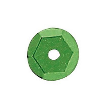 Paill.cuvettes, 6mm vert