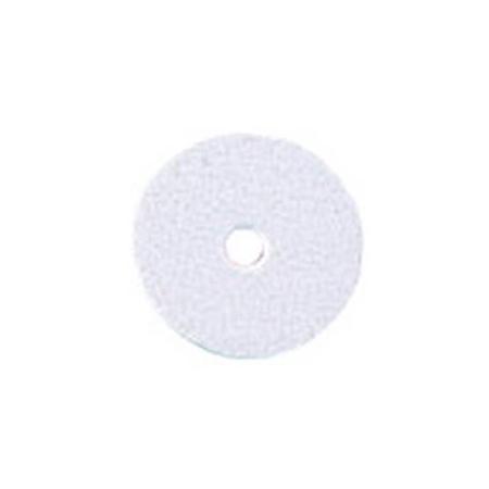 Paill.plates 6mm, blanc