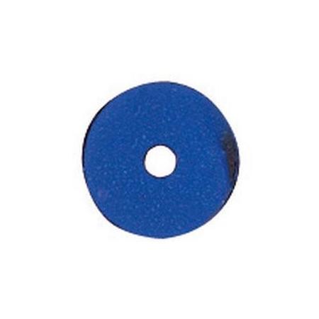 Paill.plates 6mm, bleu