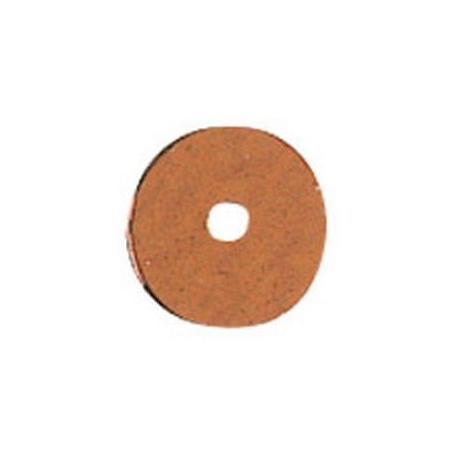Paill.plates 6mm, brun