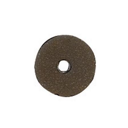 Paill.plates 6mm, noir