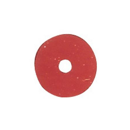 Paill.plates 6mm, rouge