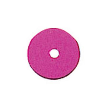 Paill.plates 6mm, fucsia