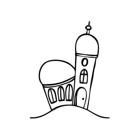 Cachet 'Eglise, petite'