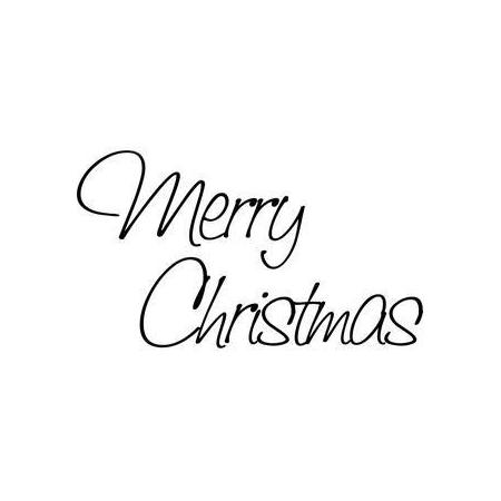 Cachet 'Merry Chrismas'