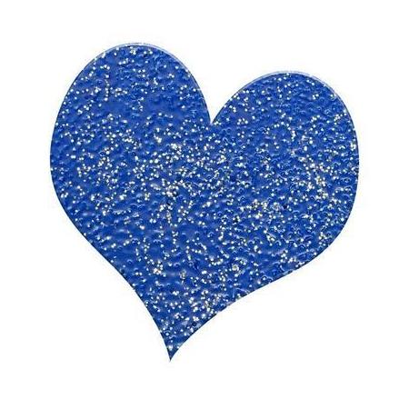 Poudre embossing10g bleu brillant