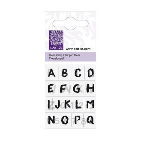 Tampon Clear petit peint.alphabet
