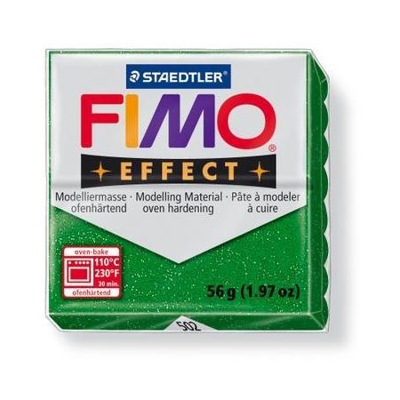 Fimo Effect vert paillettes