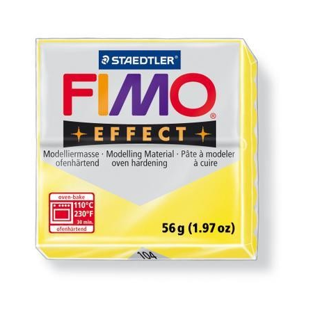 Fimo Effect jaune transparent