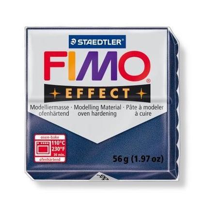 Fimo Effect bleu saphir métallisé
