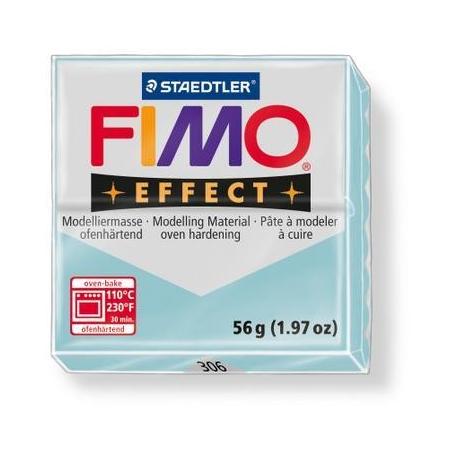 Fimo Effect pierre bleu clair