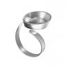 Fimo-Ovale d'anneau de déco