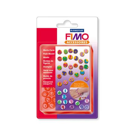 Fimo Motif F. ABC123