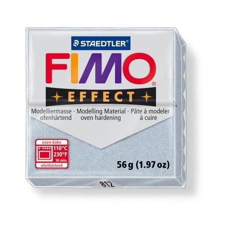 Fimo Effect argenté paillettes