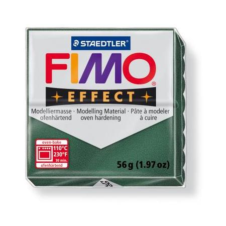 Fimo Effect vert opale métallisé