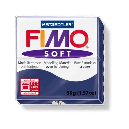 Fimo Soft bleu windsor