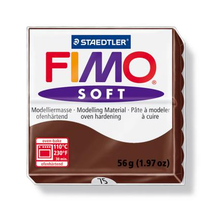 Fimo Soft chocolat