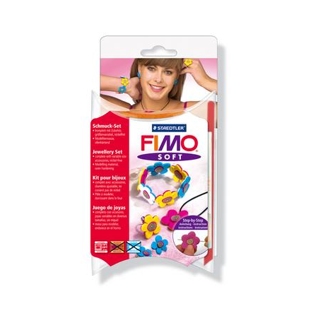 Fimo soft Set Flower