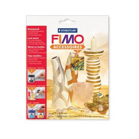FIMO Feuilles en métal abalone