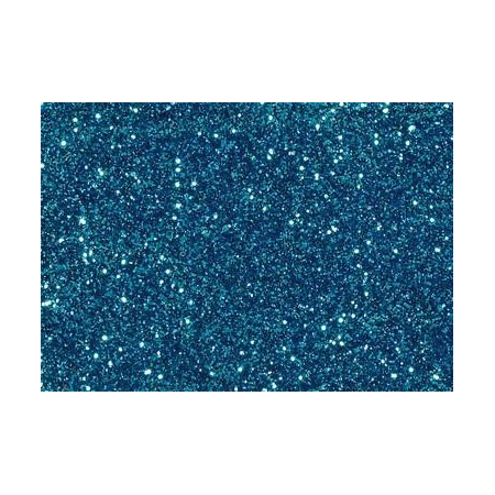 Glitter fin bleu turq.7g