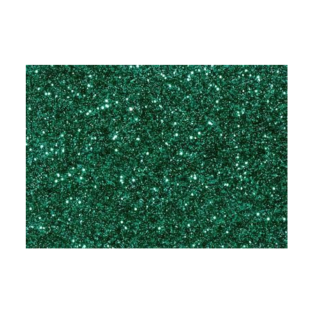 Glitter fin émeraude 7g