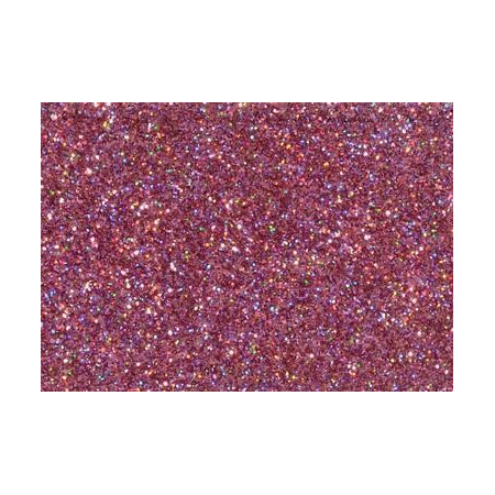 Hologramme glitter rose 7g