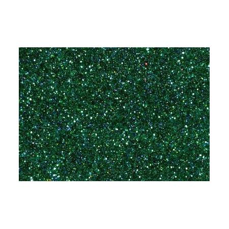 Hologramme glitter vert7g