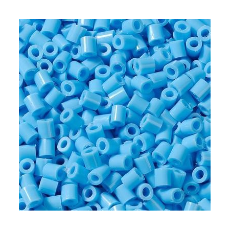 Perles à repasser 1000 pc.bleu cl.