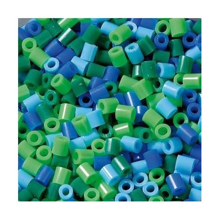 Perles à repasser 2000pc.bleu mix