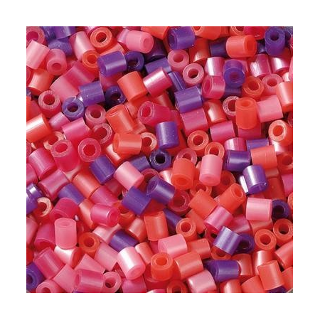 Perles à repasser 2000pc.pink br.mix