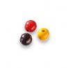 Mix de perles en bois 6mm no/roSB118
