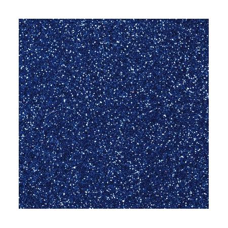 CreaSoft pailleté bleu 20x30