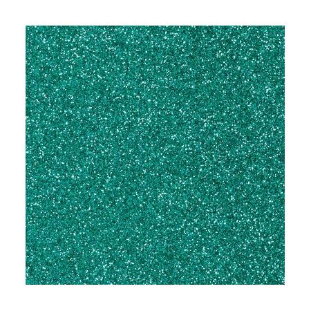 CreaSoft pailleté vert émeraude 20x30 2mm