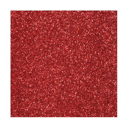 CreaSoft pailleté rouge 20x30 2mm