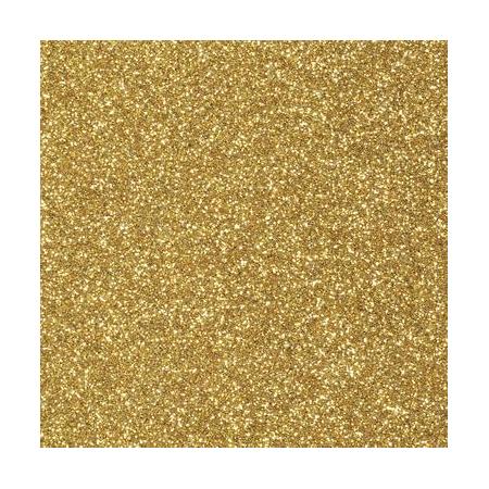 CreaSoft pailleté jaune d'or 20x30 2mm
