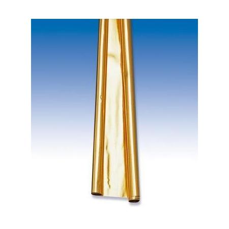 Papier métallisé doré 50x78