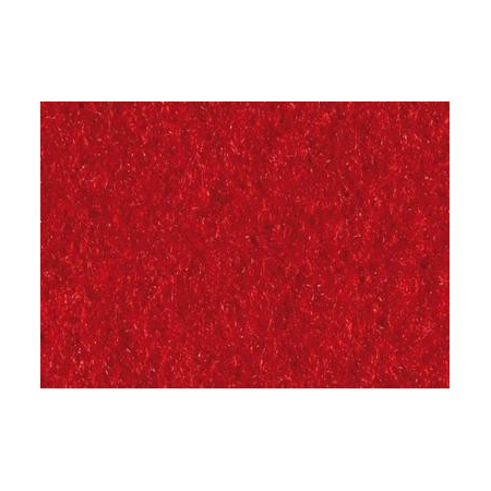 Feut.polyester 30x45cm rouge fo