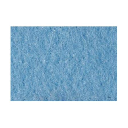 Feut.polyester 30x45cm bleu clair