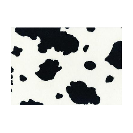 Feutrine à modeler vache 30x45cm