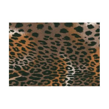 Feutrine à modeler léopard 30x45cm