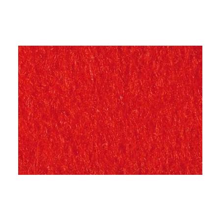 Feut.polyester 30x45cm rouge cl
