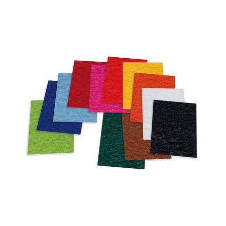 Feut.polyester 20x30cm sachet assorties