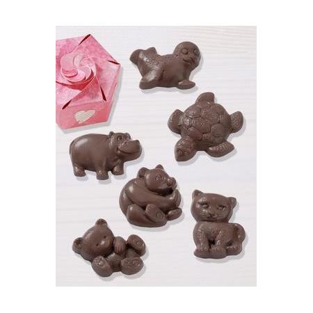 Moules p.chocolat animals 4.5 - 5.5 cm