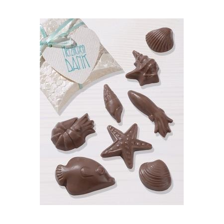 Moules p.chocolat monde marin 2.5 - 5.5 cm