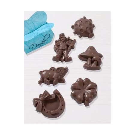 Moules p.chocolat bonheur 4.5 - 5.5 cm