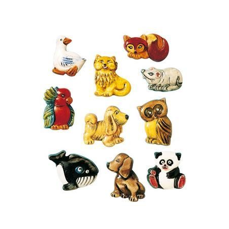 Moule broches animaux 3 - 4 cm