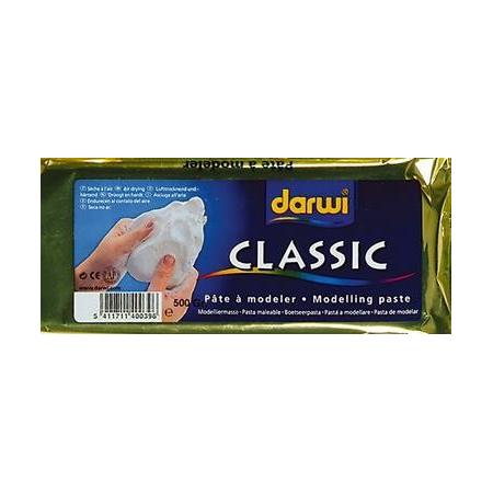 Pâte à modeler blanche 500g