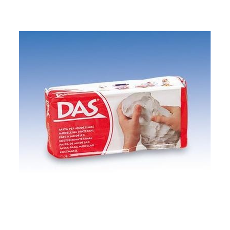 Pâte à modeler DAS blanc 500g