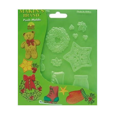 Push Moulds chrismas decor