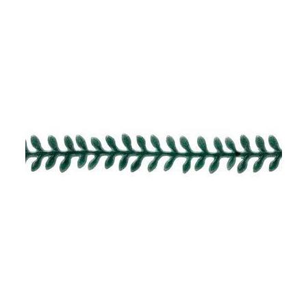Guirlande de feulles vert 20cm